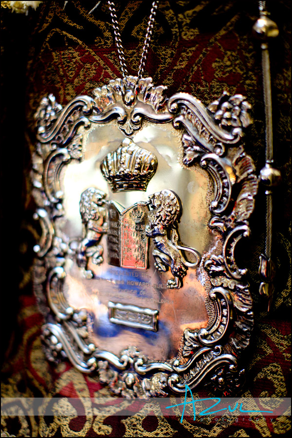 Torah photograph at the Temple