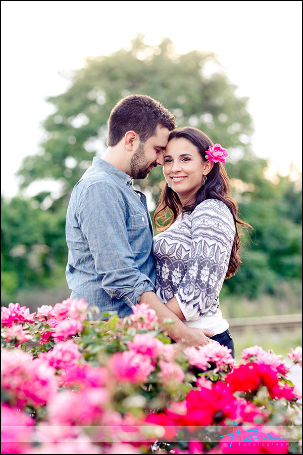 Beautiful engagement portrait session NC