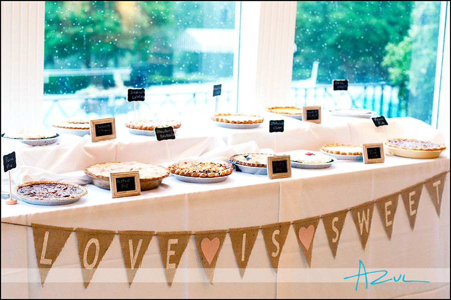 Creative wedding day deserts for chef & guests Raleigh NC