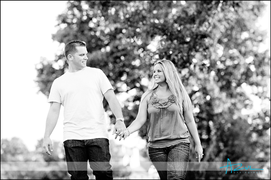 Cary NC engagement session