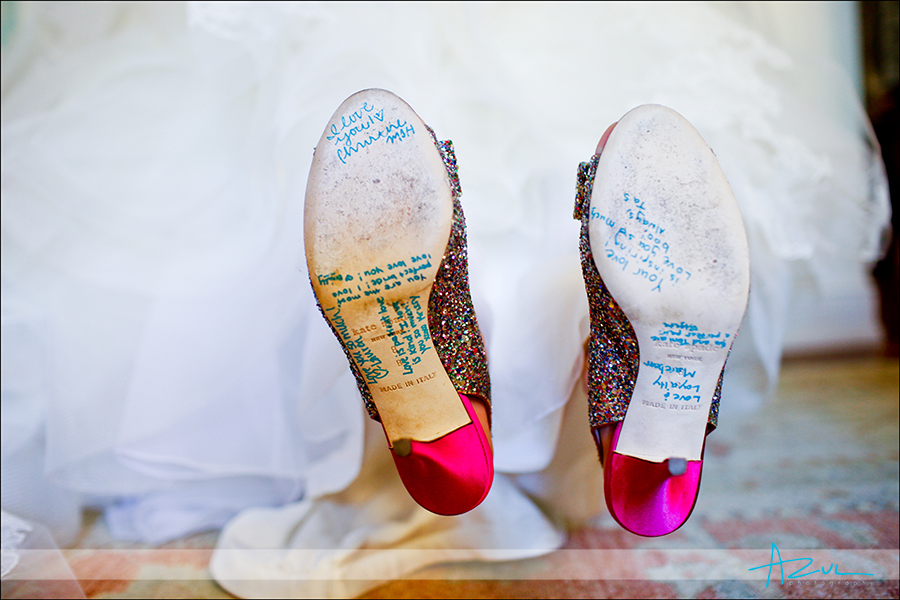 Comfortable Wedding day shoes Raleigh NC