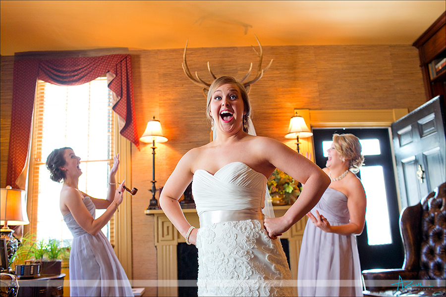 Different bridal party portrait Wake Forest NC