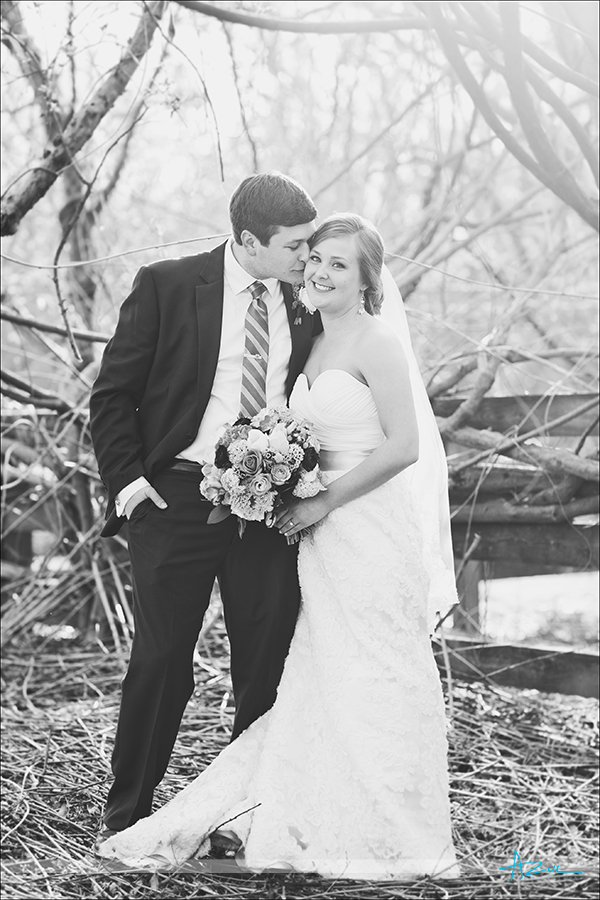 Amazing wedding portrait photographer of B&G on the big day at The Sutherland NC