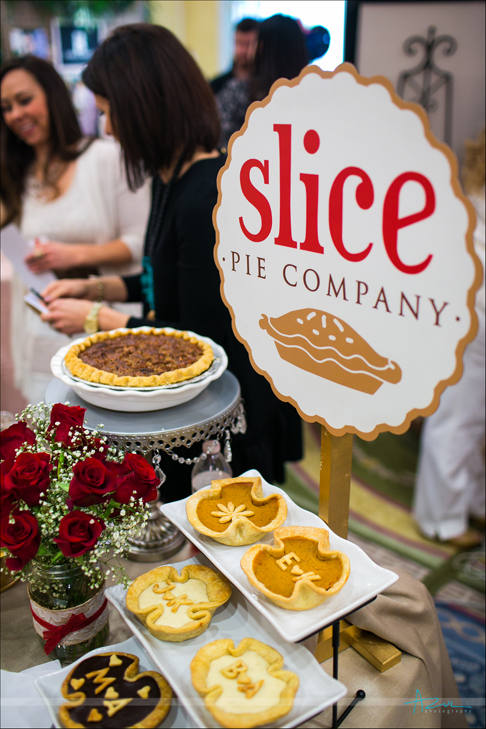 Best slice of pie you will ever have at a wedding in Raleigh NC