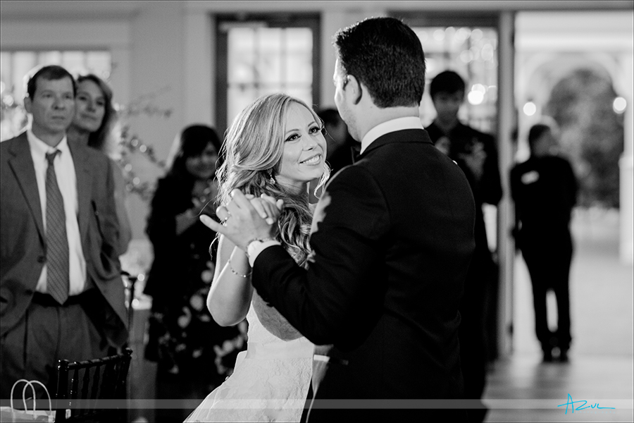 Wonderful moment captured by the wedding photographer at Highgrove Estate in North Carolina.