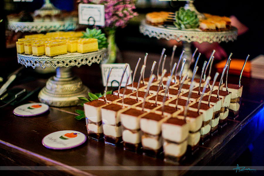 Lots of variety for wedding day deserts can be found at Pasty Works in Raleigh NC