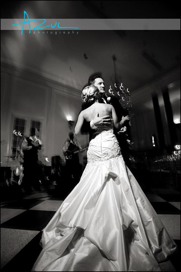 Last wedding dance of the night.