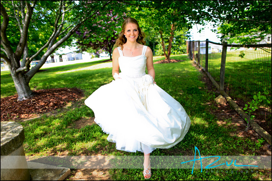Bridal portrait in Henderson NC
