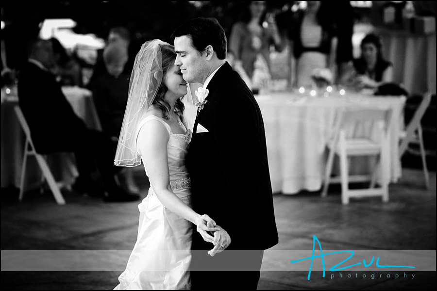 Emotional first dance photograph in Henderson North Carolina