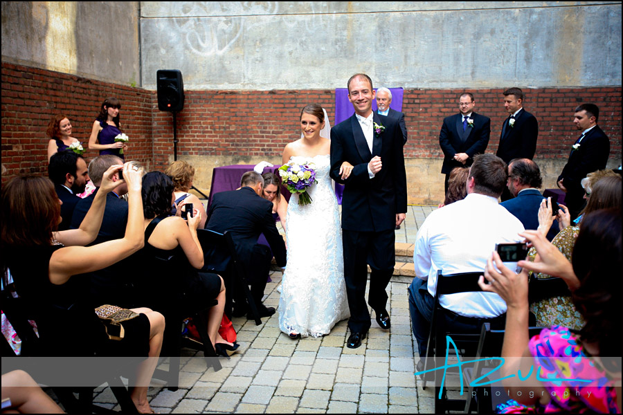 Downtown Raleigh Wedding Reception
