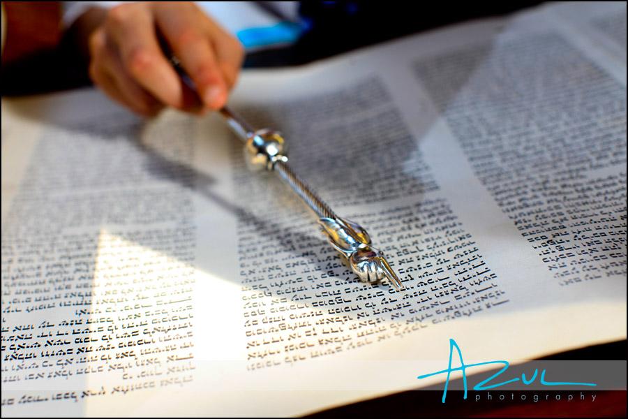Bat Mitzvah Torah Photograph
