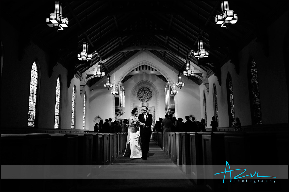 Wedding day photograph of couple in Raleigh