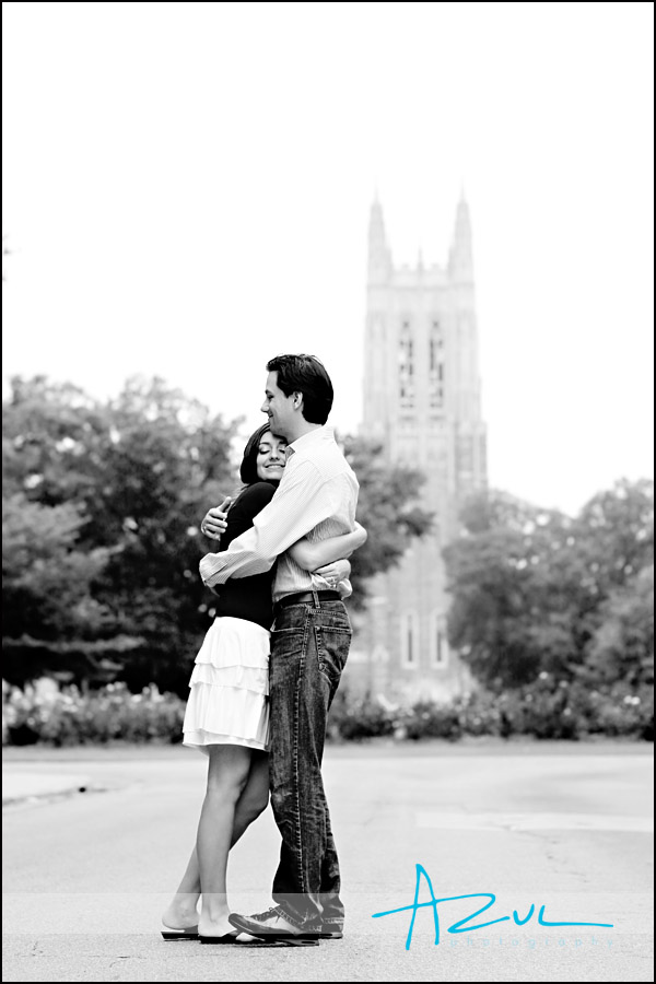 Duke Engagement portraits