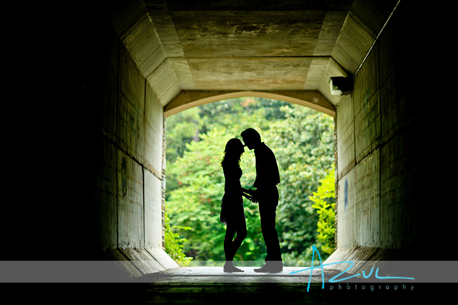Durham Engagement portrait photography