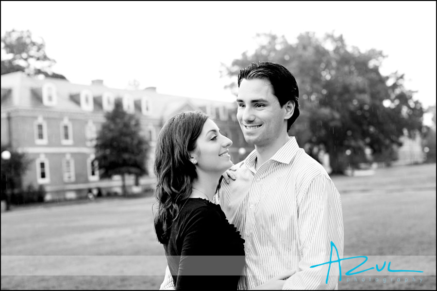 Duke Engagement portriat photographer