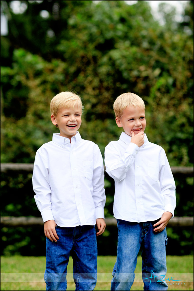 Twin portrait photography Raleigh