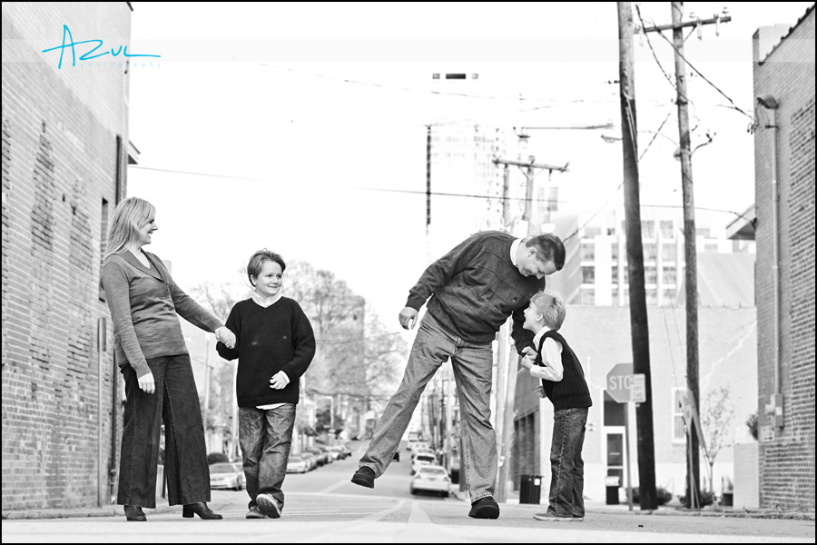 Portrait Family Photographer Downtown Raleigh