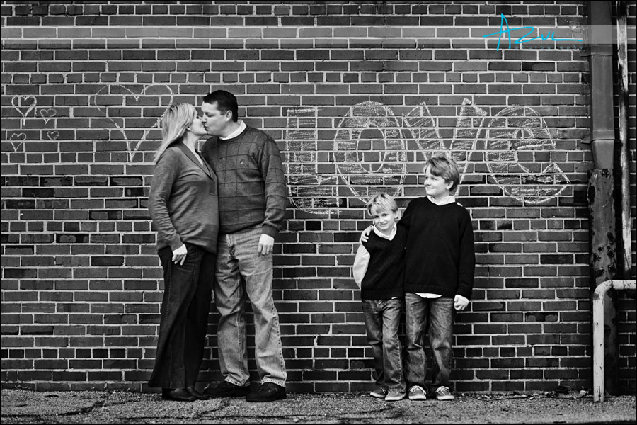 Raleigh downtown urban family photographer NC