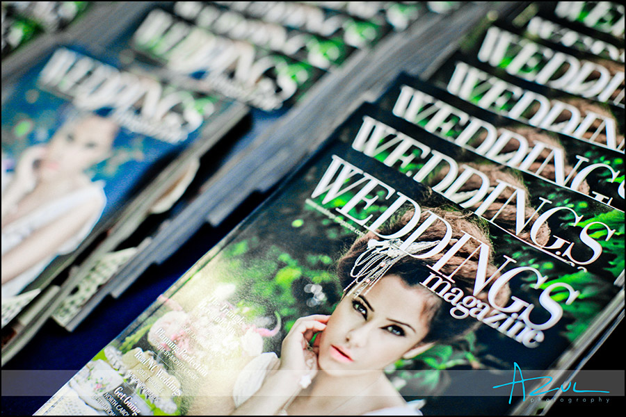 Raliegh wedding magazine NC