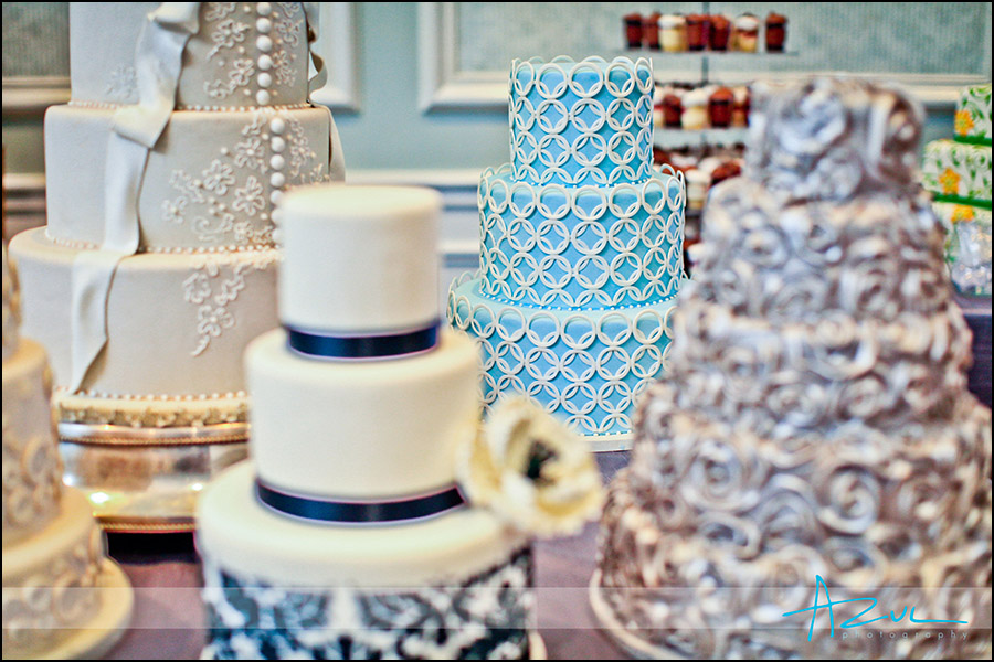 Raleigh creative wedding cake decorator NC