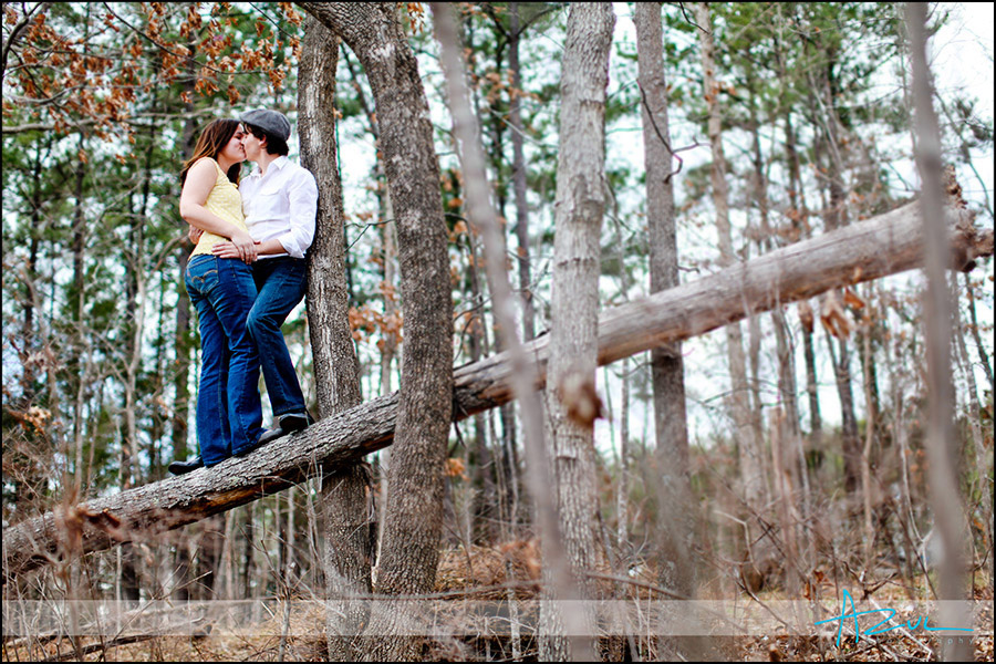 Unique Raleigh engagement portrait photographer