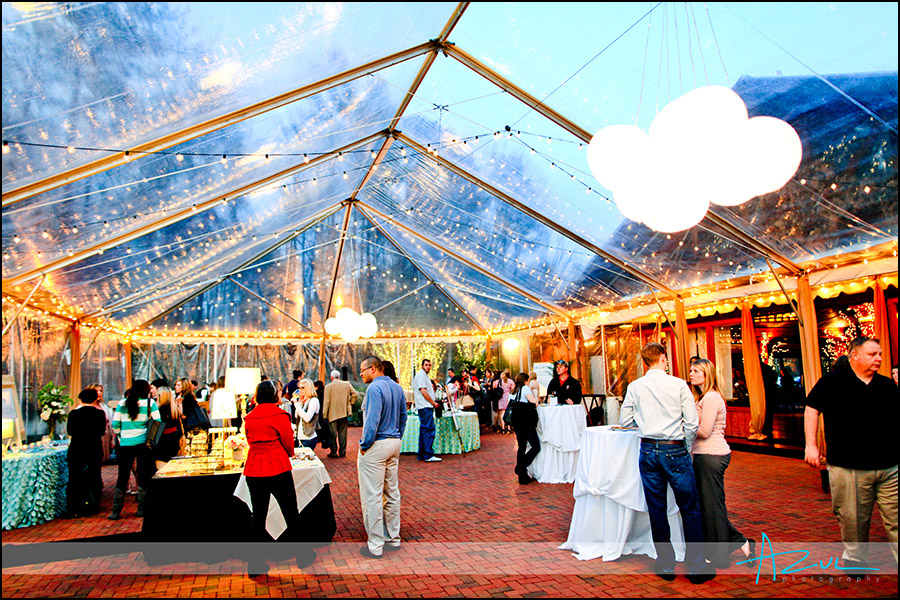 Classic Party Rental tent for Raleigh / Durham