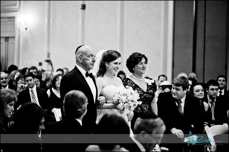 Carolina Inn indoor wedding ceremony chapel hill nc