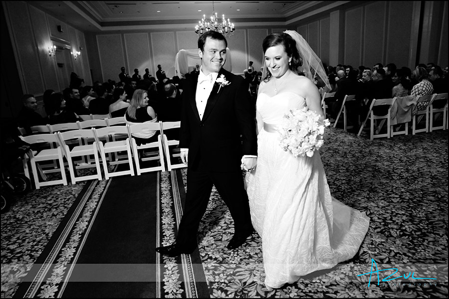 Jewish wedding ceremony at the Carolina Inn