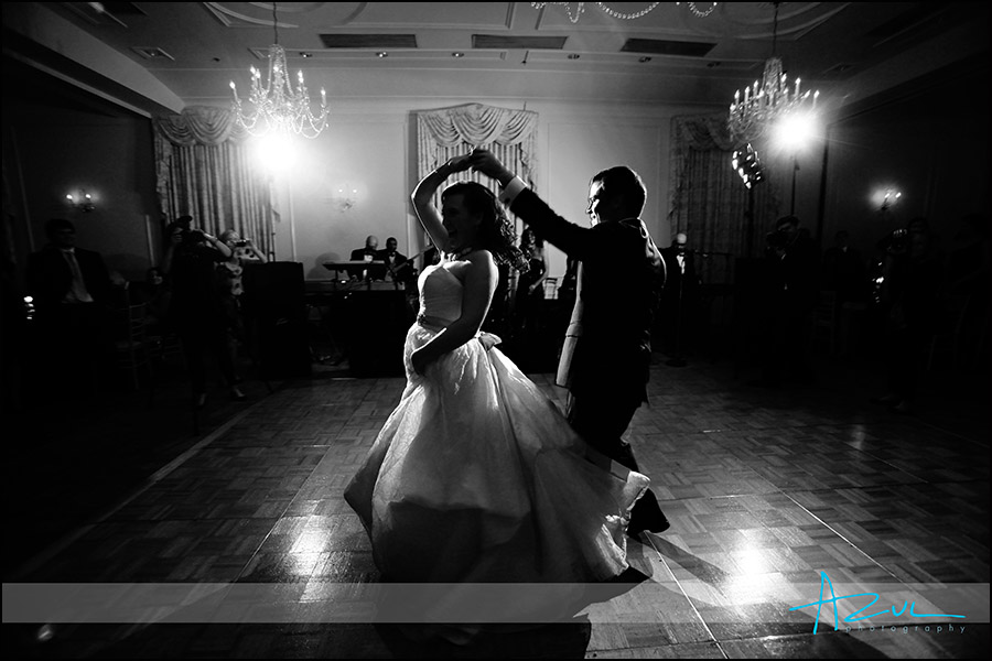First dance at the Hill Ballroom in Chapel Hill NC