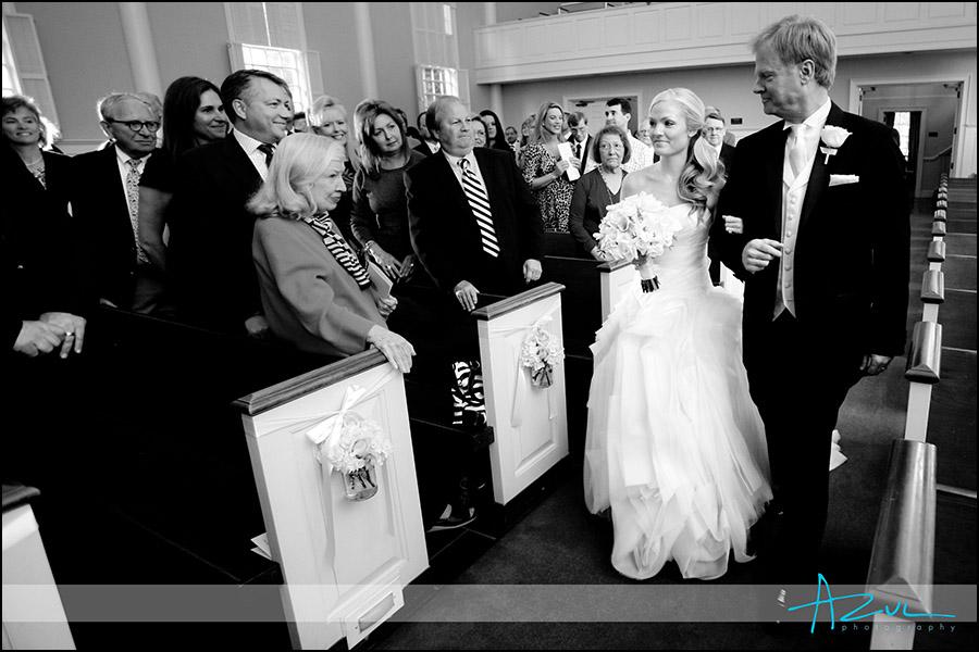 Meredith College wedding at Jones Chapel, Raleigh NC