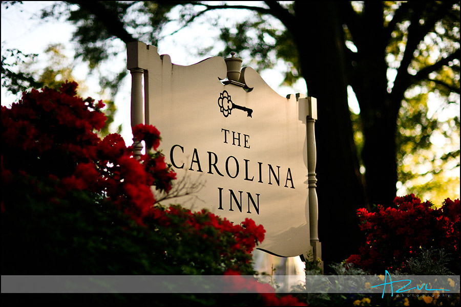 Carolina Inn wedding venue Chapel Hill NC