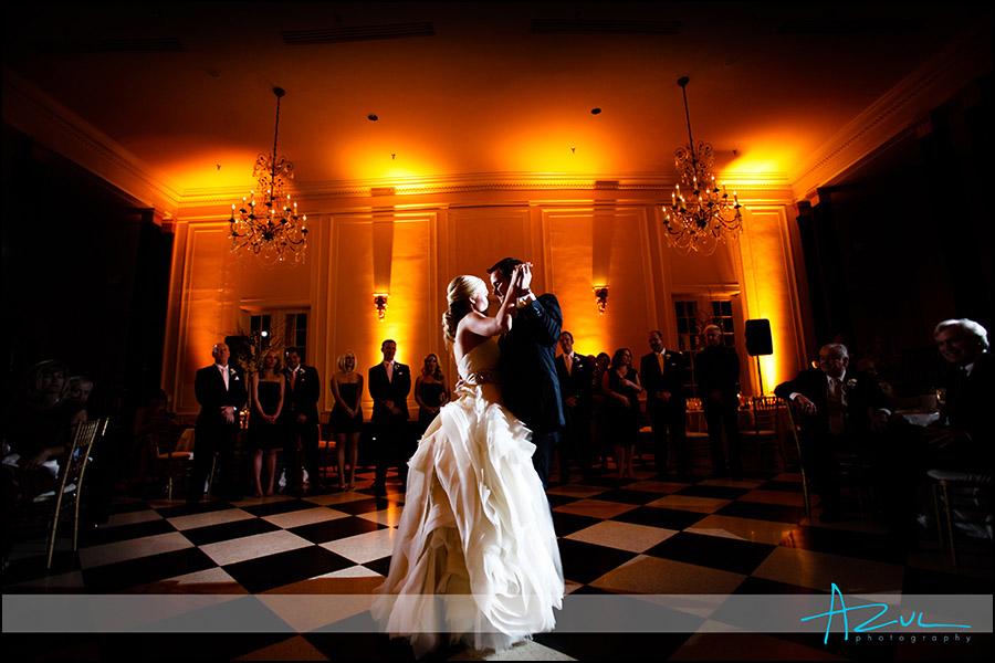 Chapel Hill wedding reception NC Carolina Inn