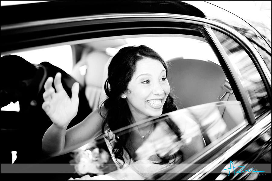 Wedding transportation vehicle Raleigh NC