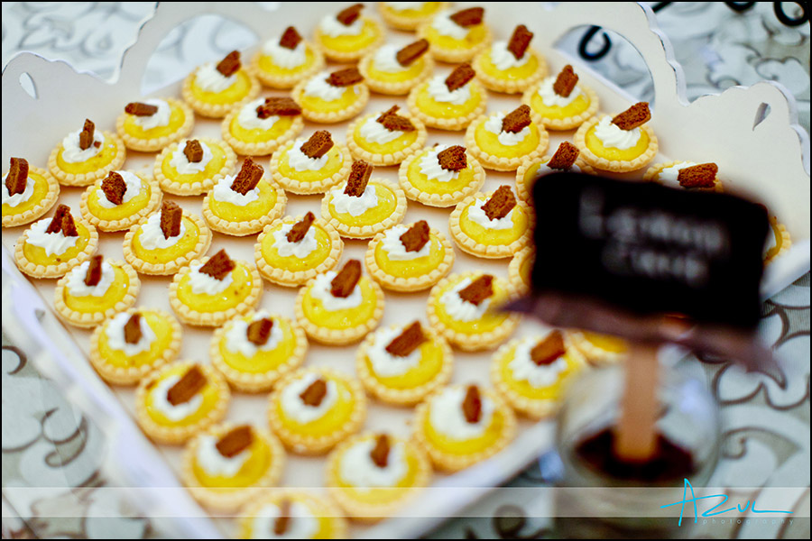 Raleigh wedding reception sweets NC
