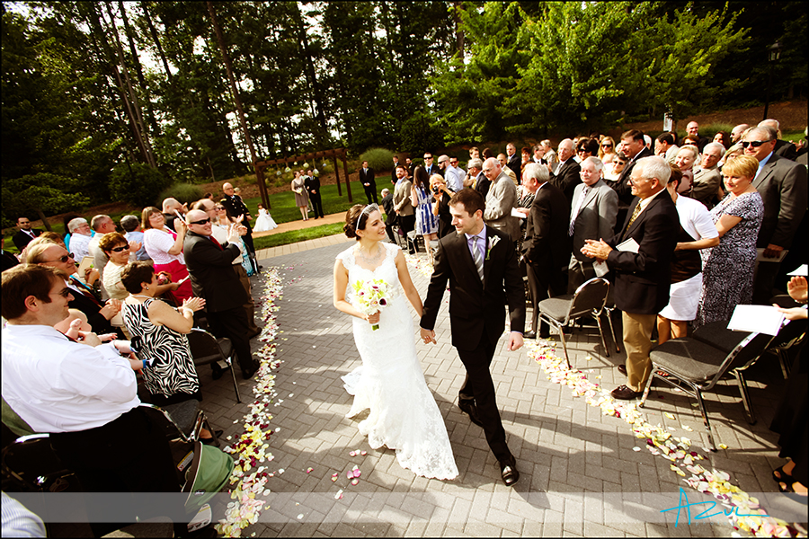 Wedding day ceremony NC Raleigh venue