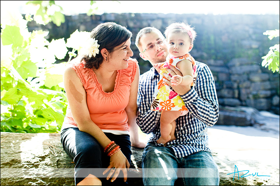 Fun family portrait photography Raleigh NC