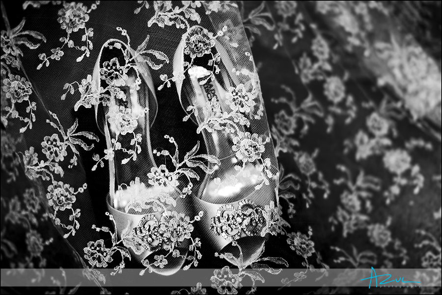 Amazing veil and comfortable wedding day shoes Raleigh NC