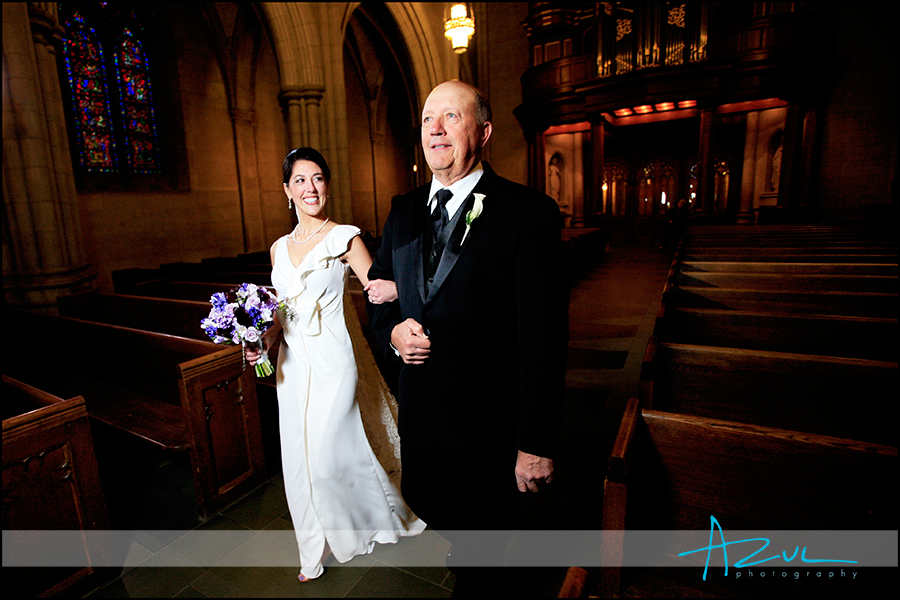 Beautiful wedding day ceremony photography Durham NC