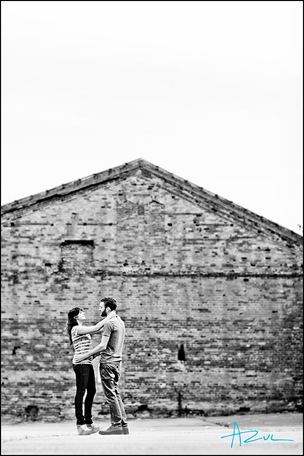 Creative Raleigh engagement session downtown Raleigh NC