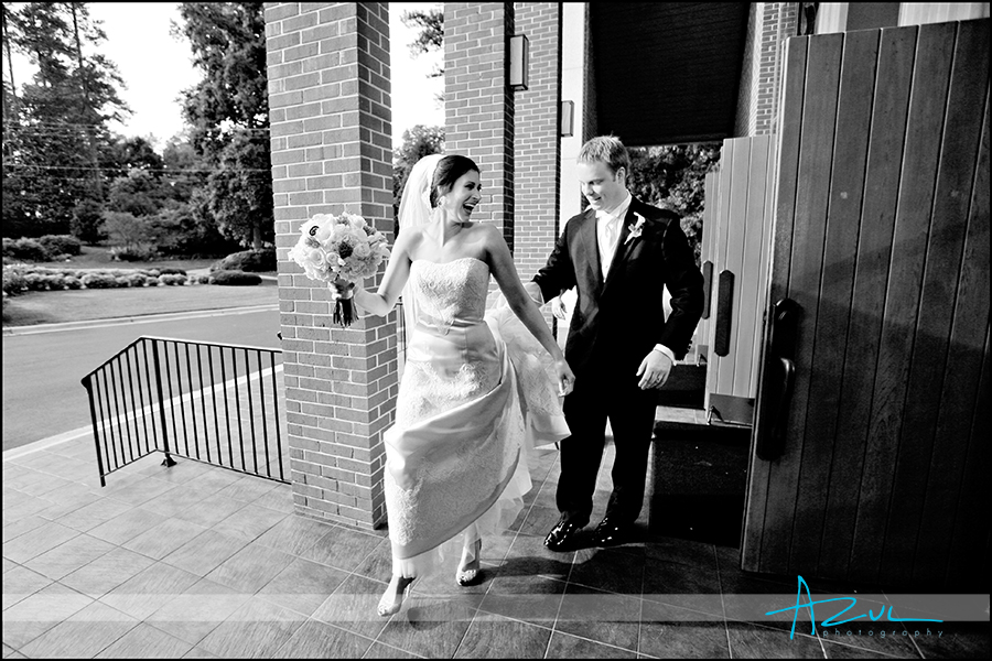 After ceremony wedding photojournalism photography Raleigh NC