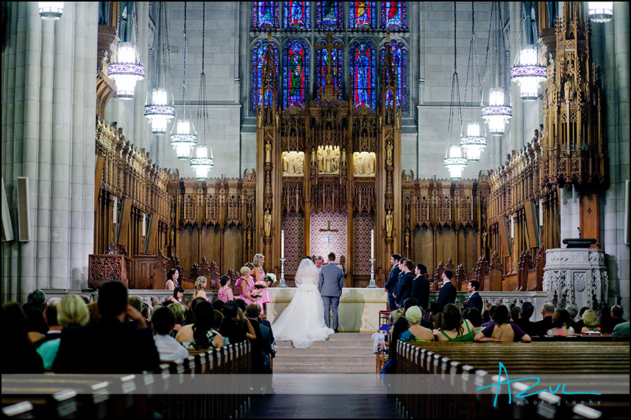 Duke Chapel wedding day ceremony location Durham NC