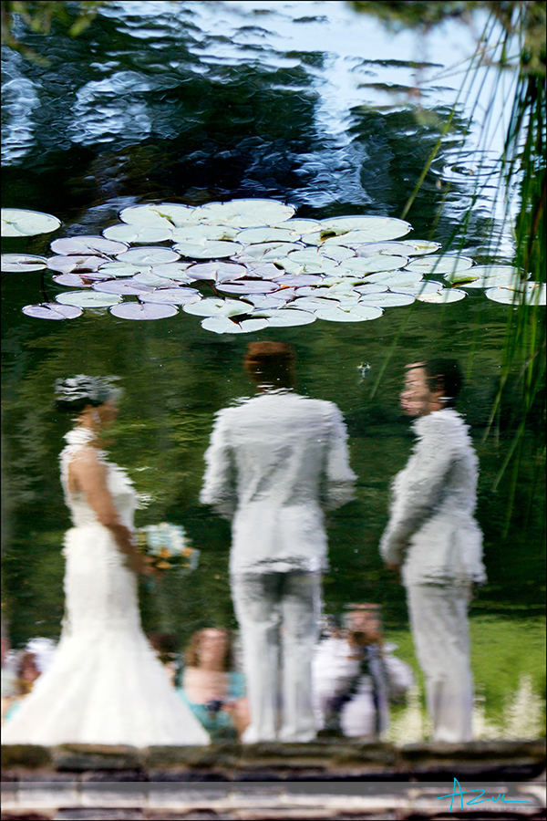 Duke Gardens wedding ceremony