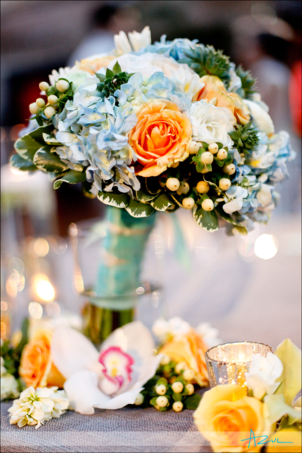 Raleigh wedding day florist photograph of bouquet