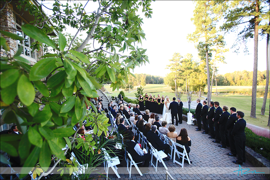 Perfect wedding day ceremony in Chapel Hill NC