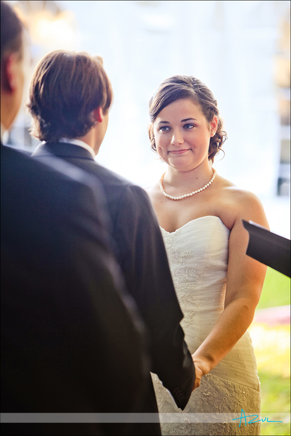 Wedding day ceremony photographer NC