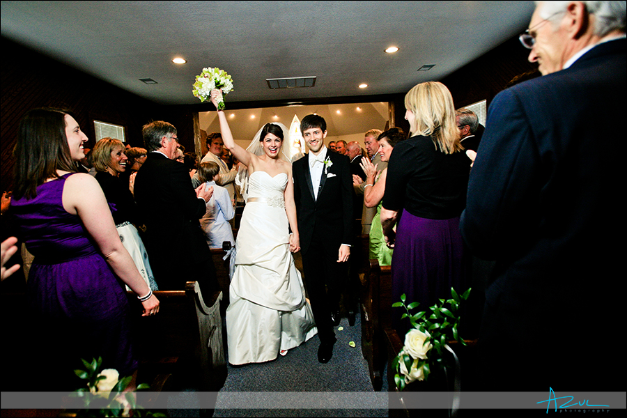 Wedding ceremony photography Corolla Chapel Outer Banks NC