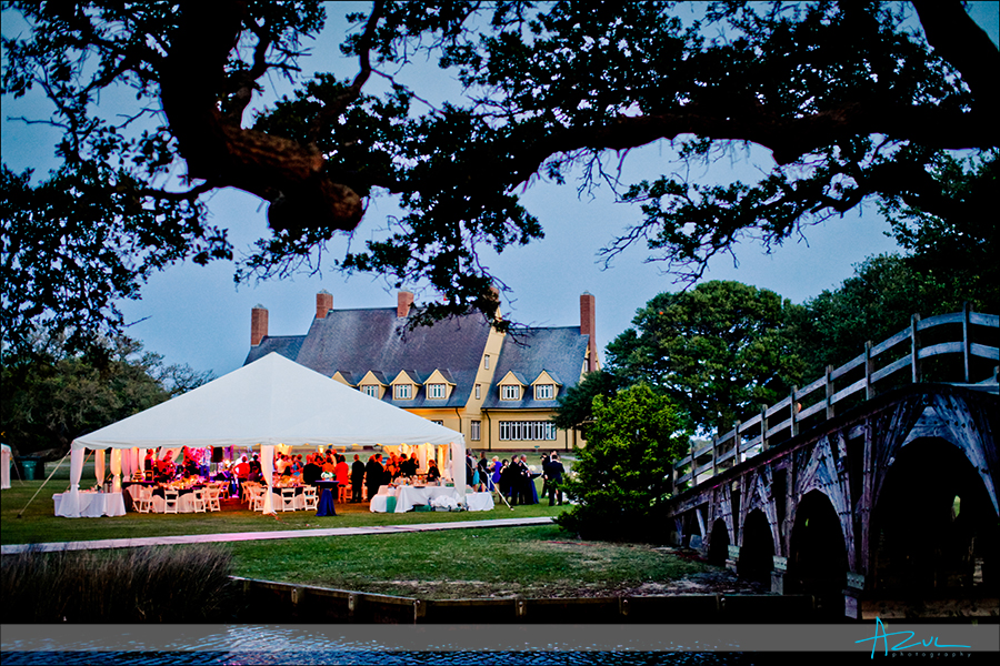 The best wedding reception venue Whalehead Club Outer Banks NC