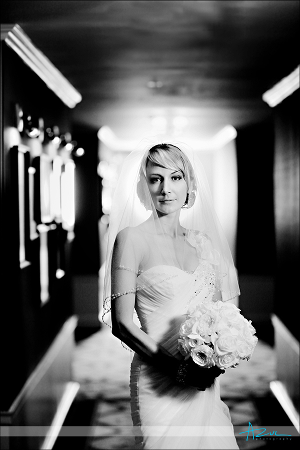 Carolina Inn bridal portrait Chapel Hill NC