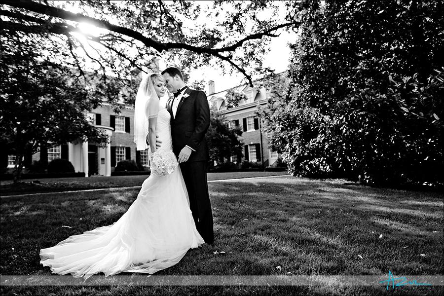 Raleigh creative portrait wedding photography NC B&G