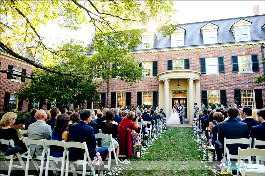 Beautiful Carolina Inn Wedding October Chapel Hill Nc